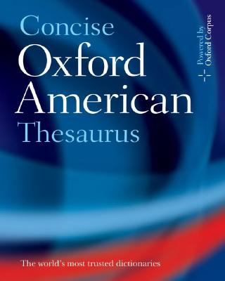 Concise Oxford American Thesaurus